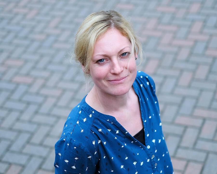 Portrait von Stefanie Wasserstrahl - Empfang und Auftragsbearbeitung